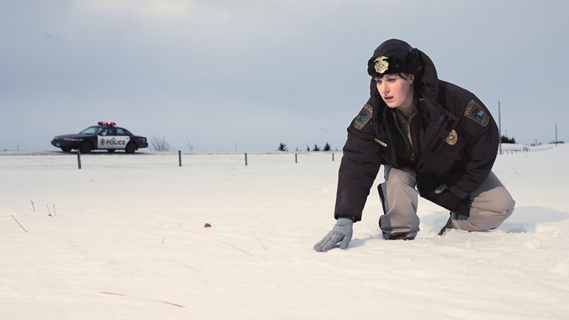 "Allison Tolman as Molly Solverson in a scene from the FX series ""Fargo"""