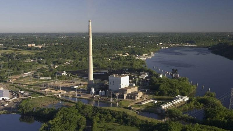 Allen S. King coal-fired power plant inBayport, Minnesota