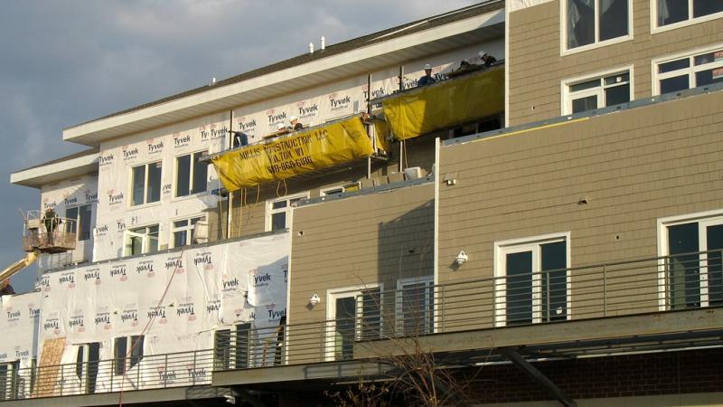 apartment building, construction, Beloit