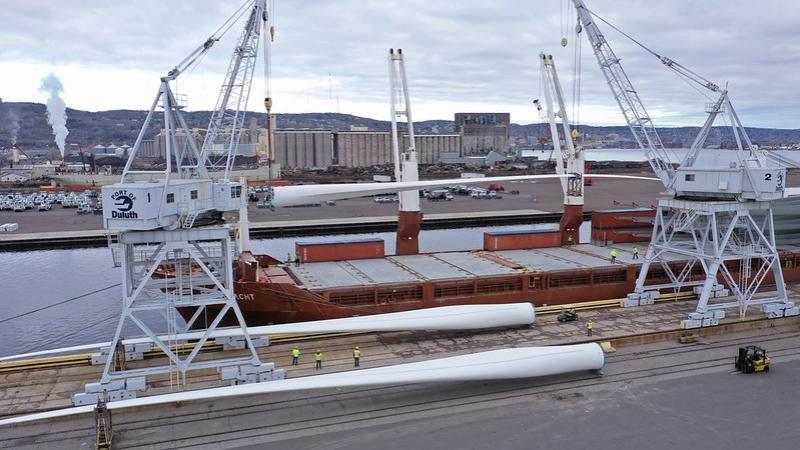 cargo, Twin Ports