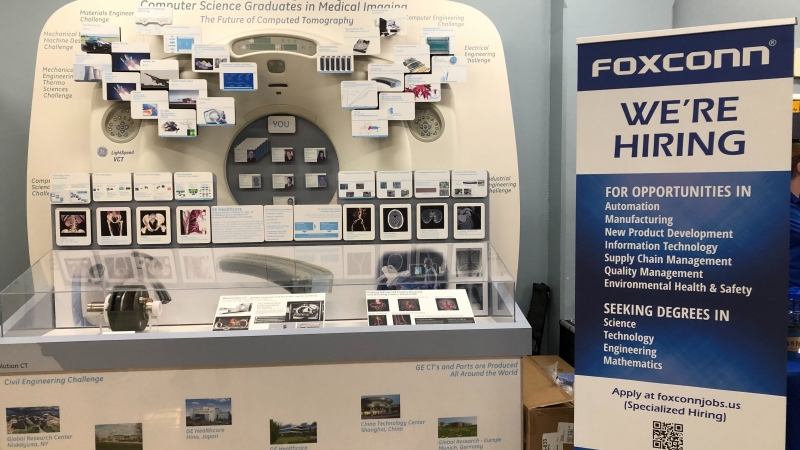 """""""Foxconn Day"""" at the University of Wisconsin-Milwaukee"""