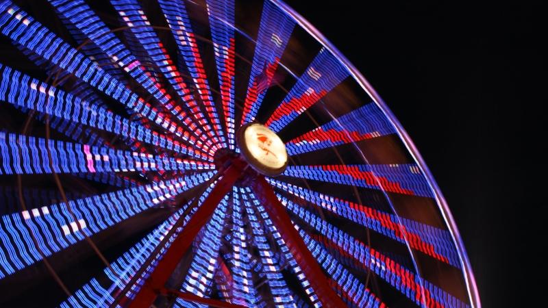 Ferris wheel at Dane County Fair