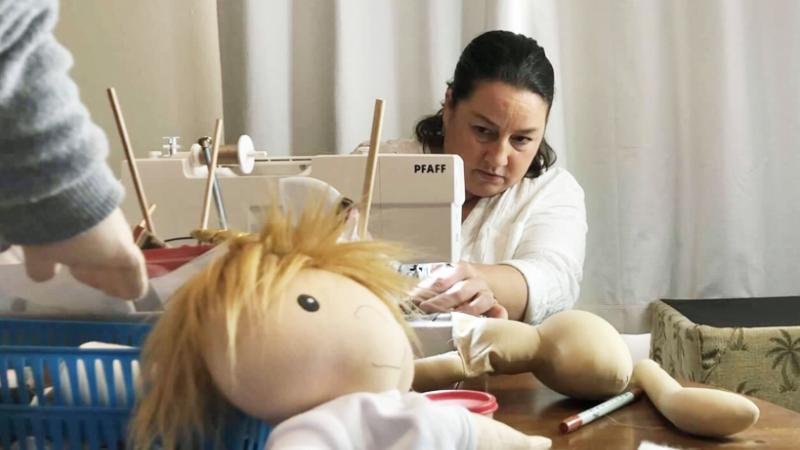 Amy Jandrisevits, A Doll Like Me, diversity, dolls, New Berlin