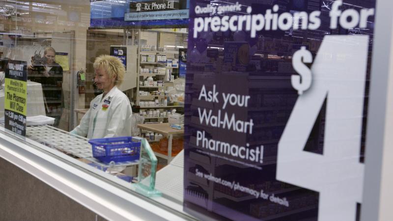 Pharmacist Karen Kalies works at a Wal-Mart pharmacy