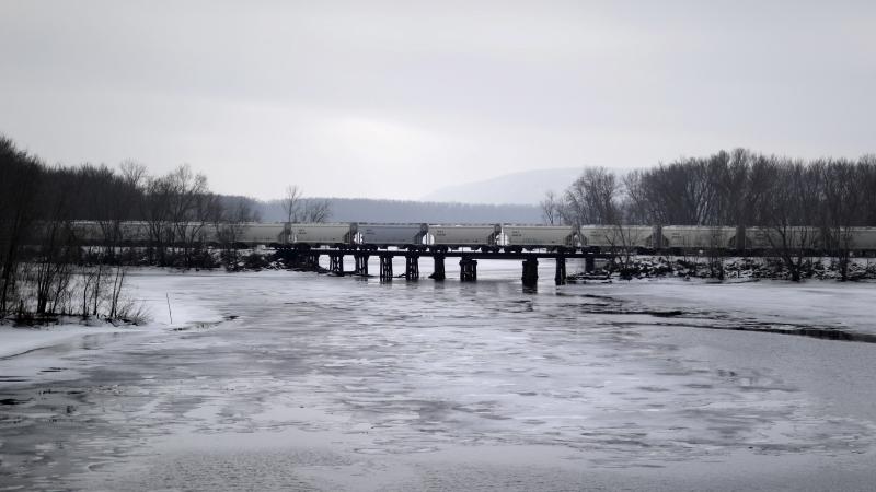 Mississippi River in Prairie du Chien