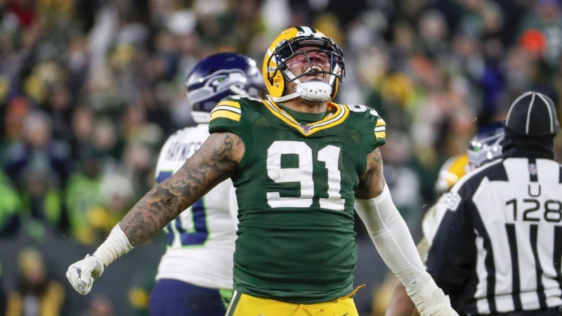 The Green Bay Packers hold on to win divisional playoff game at Lambeau Field