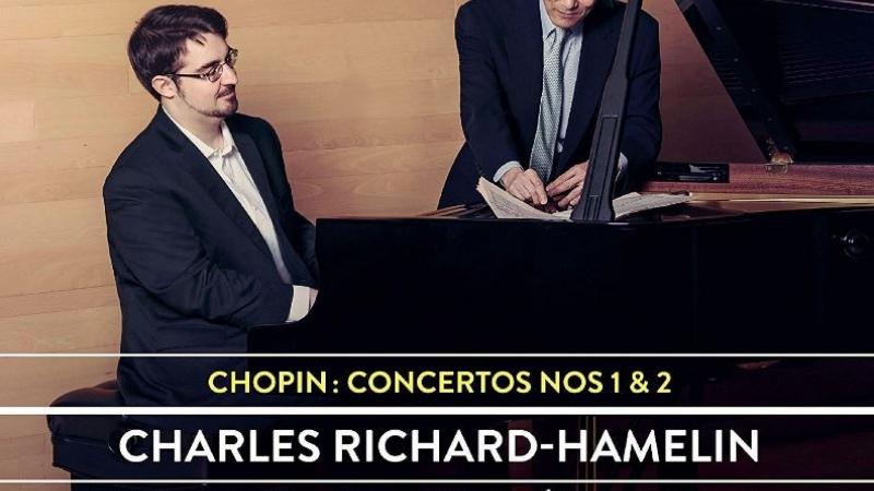 Album Cover for Chopin Concertos 1 & 2
