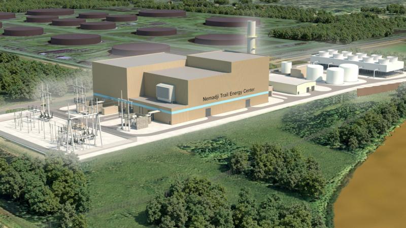 Minnesota Power design of Nemadji Trail Energy Center facility