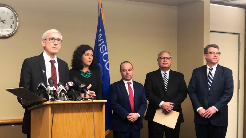 Evers announces cabinet picks including Brad Pfaff