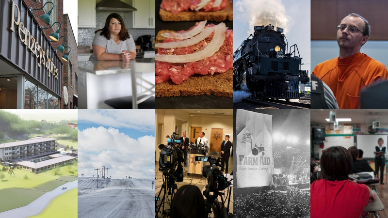 collage of WPR's top 2019 stories