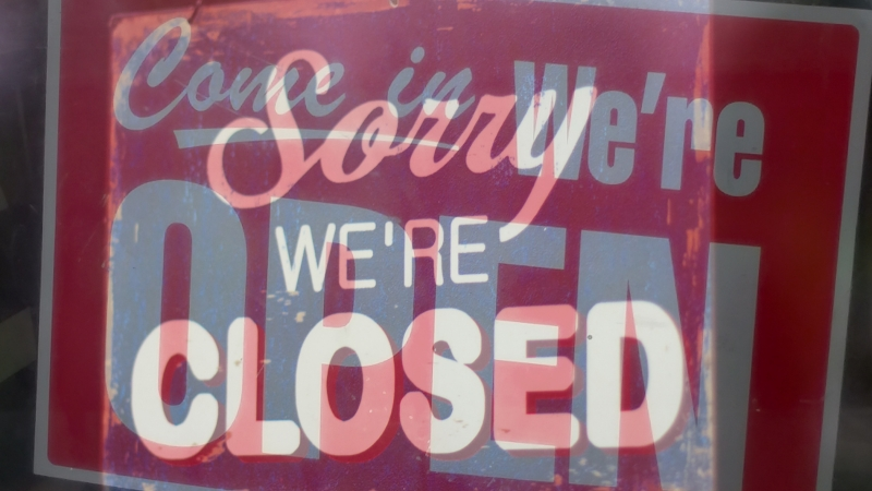 closed and open signs