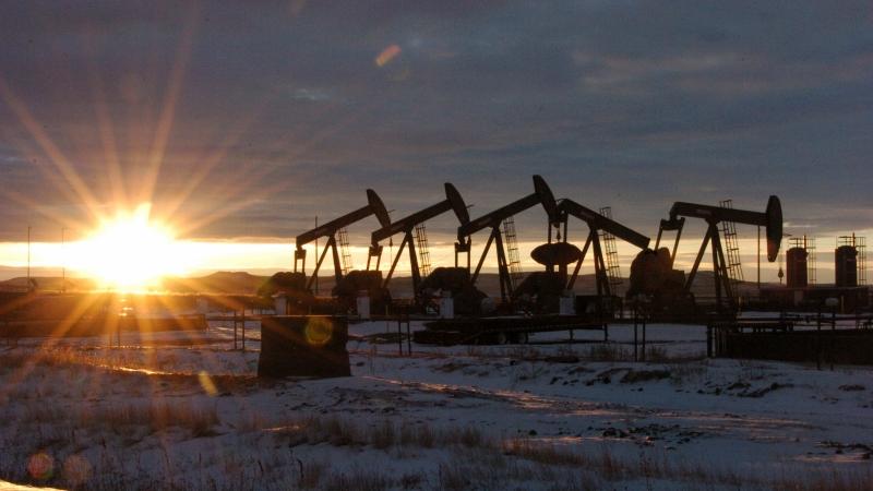 Oil pumps in North Dakota