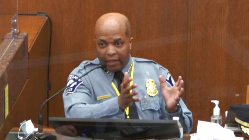 Minneapolis police chief testifies in Derek Chauvin trial