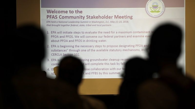 Community attends PFAS meeting