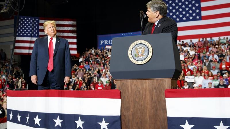 Sean Hannity & President Donald Trump