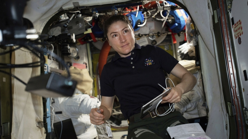 NASA Christina Koch astronaut