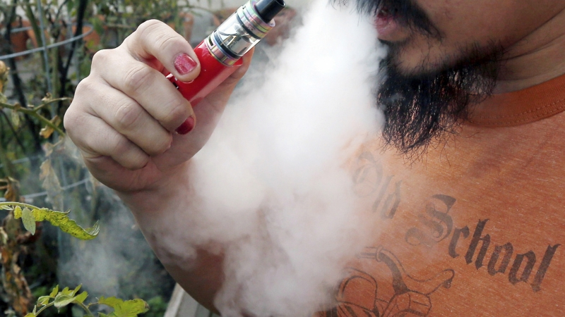 Person vaping