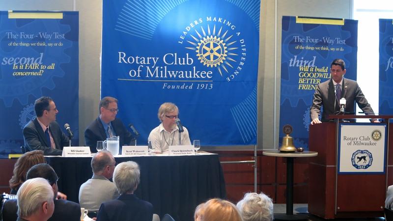 Former U.S. Rep. Paul Ryan at Rotary Club of Milwaukee