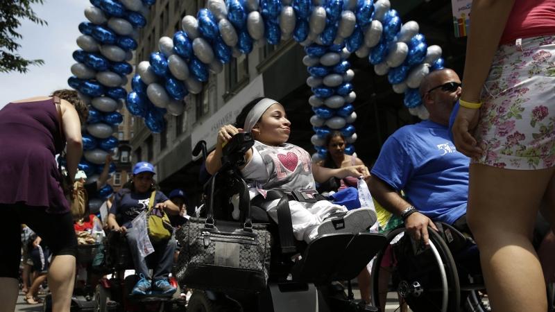 the inaugural disability pride parade