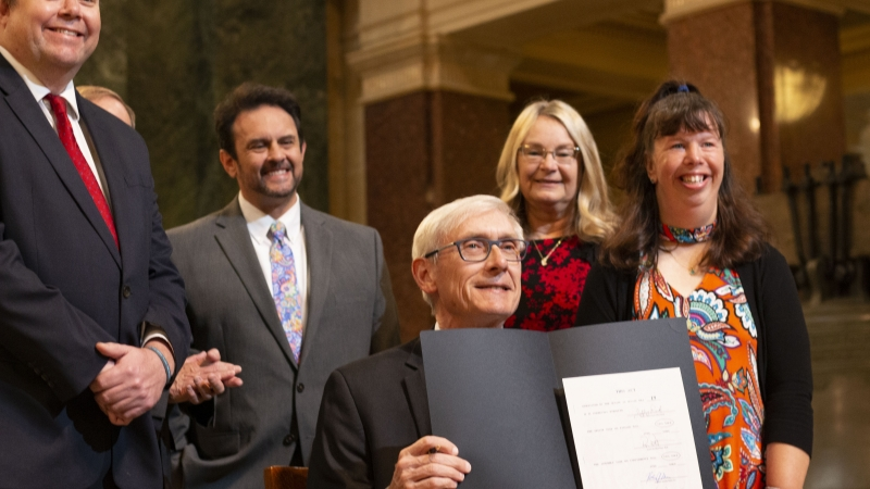 Governor Evers signs SB 19