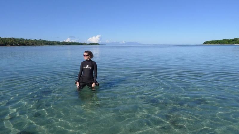 Marine biologist and writer Helen Scales
