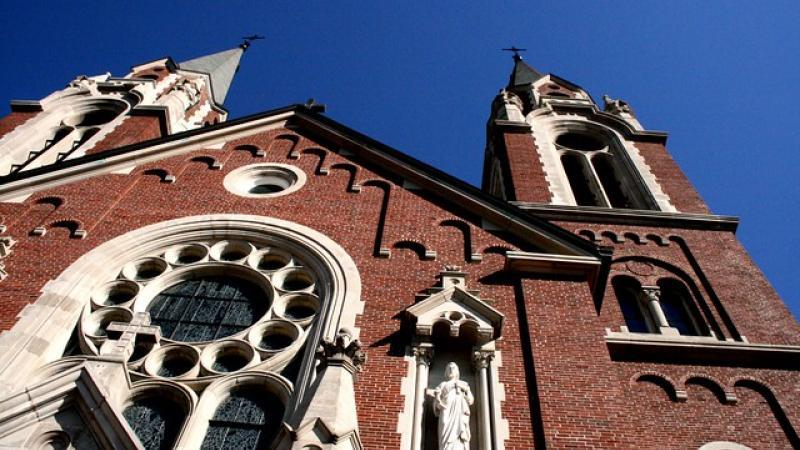 Holy Hill Basilica in Hubertus, Wisconsin Catholic Church