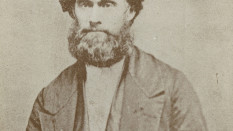daguerreotype of James Strang