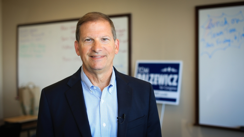 Candidate Tom Palzewicz