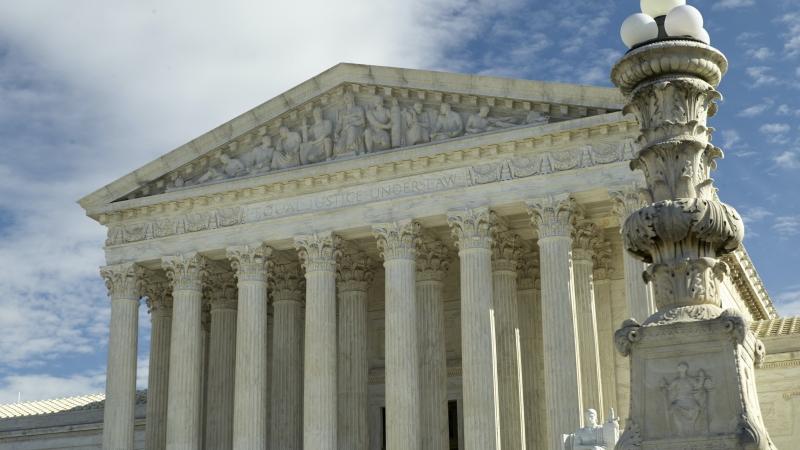 The U.S. Supreme Court in Washington, DC.