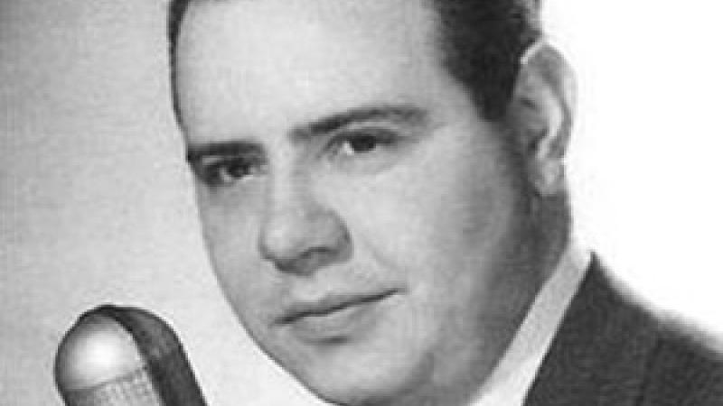 Photo of radio actor Jackson Beck