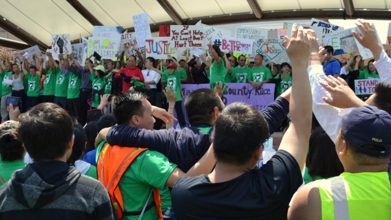 Hmong rally in Wausau