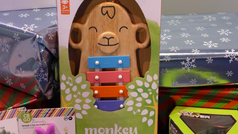 Monkey Glockenspiel toy