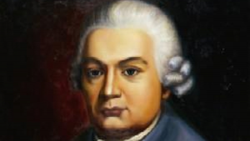 Protrait of Carl Philipp Emanuel Bach