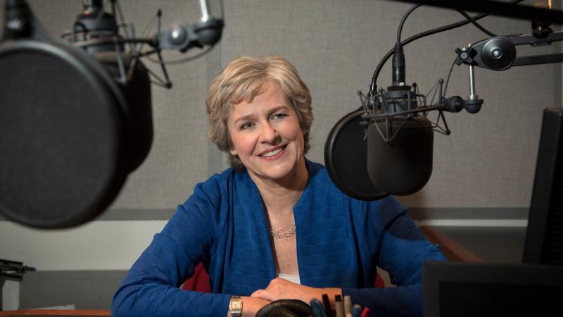 Radio host Mary Jo Heath