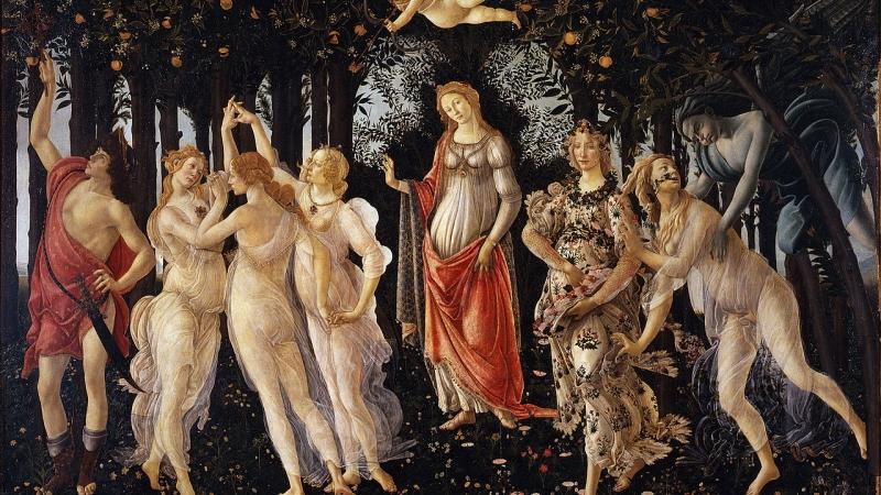 "Botticelli's ""Primavera"""
