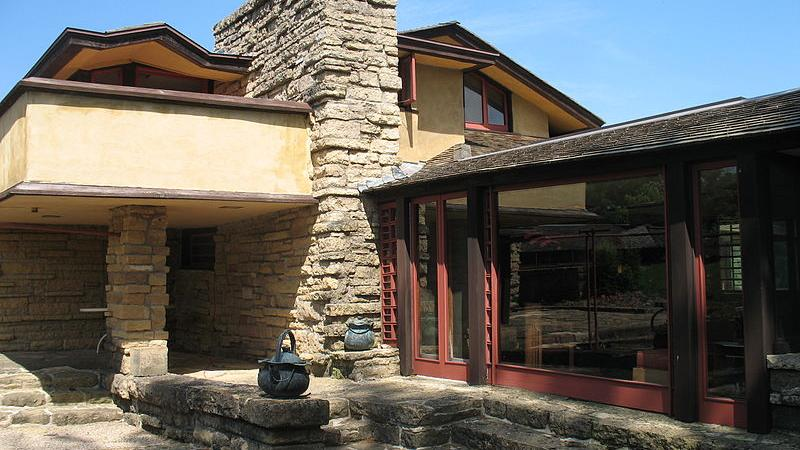 Taliesin, the estate in Spring Green that Frank Lloyd Wright called his home for many years.