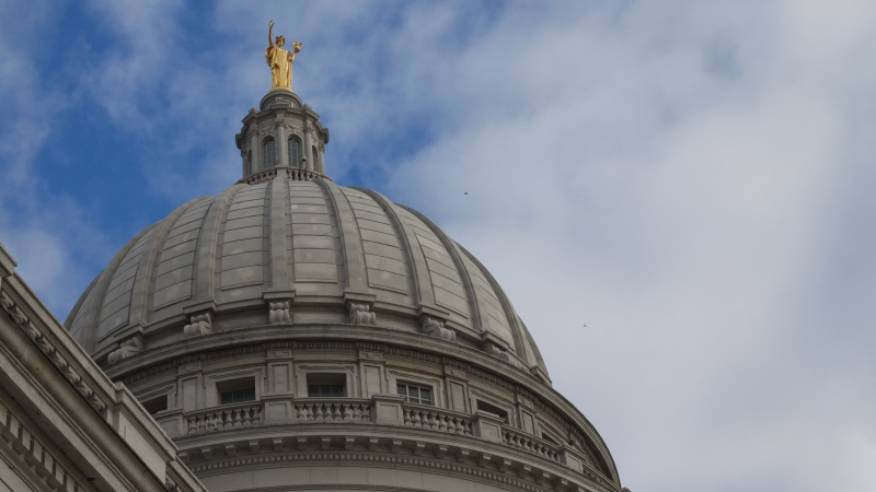 Wisconsin capitol building dome
