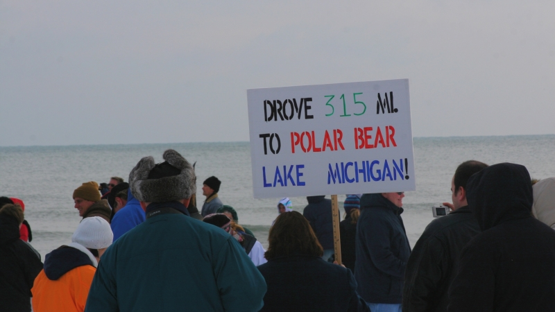 A Polar Plunge in Milwaukee