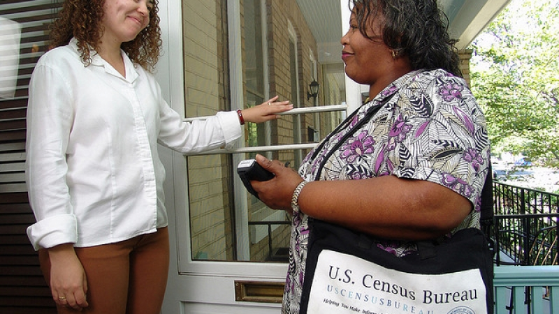 census worker, US Department of Agriculture (CC-BY-ND)