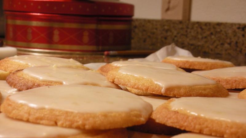 Lemon cookies from a Wisconsin baker