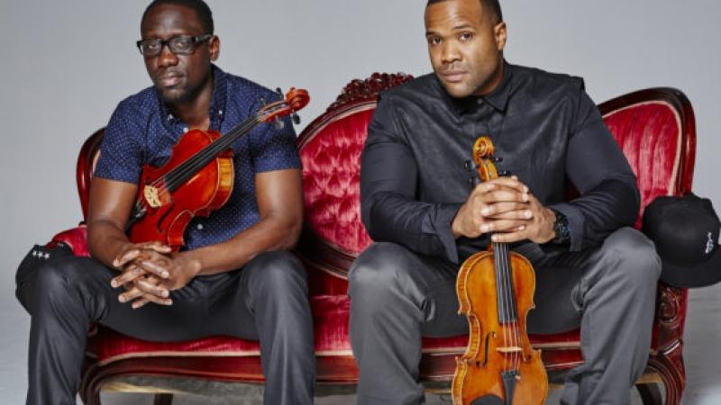 The musical duo Black Violin
