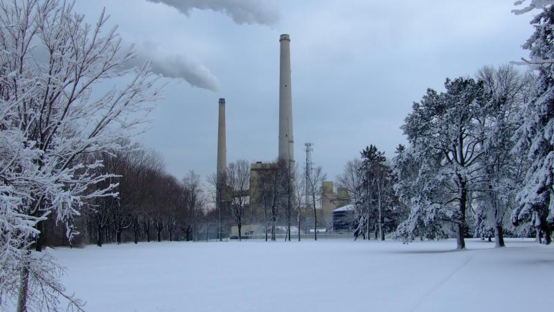 Coal-fired power plant in Sheboygan