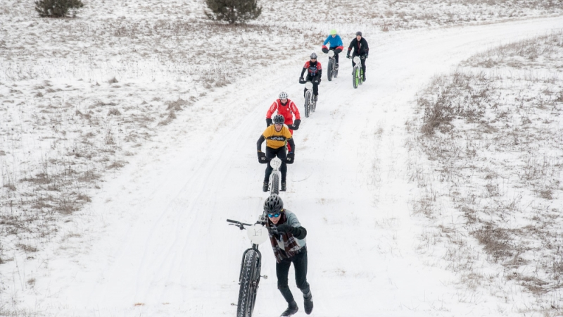 Powder Keg Snowshoe and Fat Tire Race