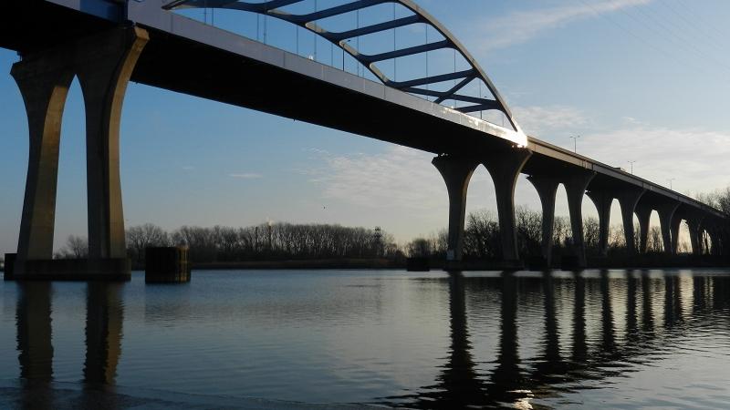 The Leo Frigo Memorial Bridge