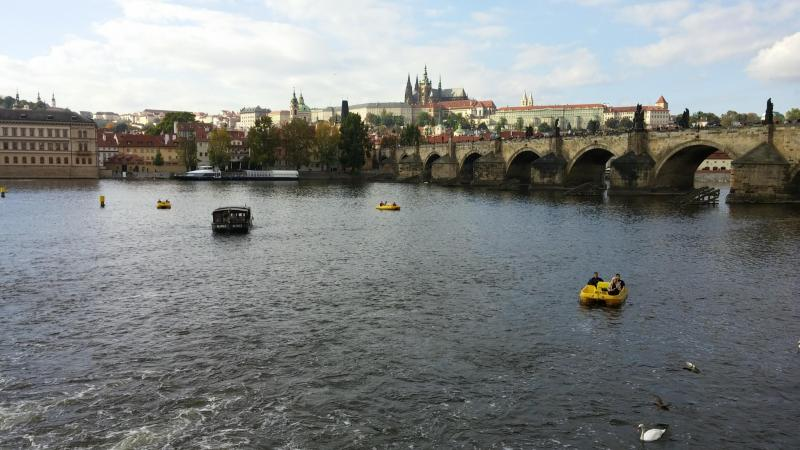 Photo of The Moldau in Prague