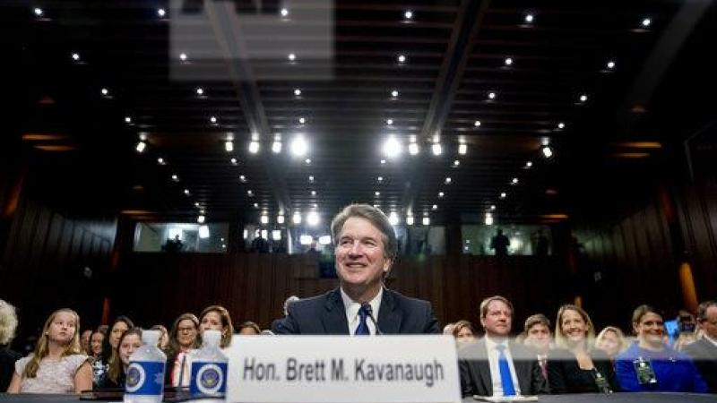 President Donald Trump's Supreme Court nominee, Brett Kavanaugh, a federal appeals court judge, appears before the Senate Judiciary Committee