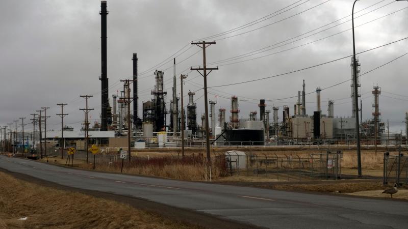 Husky Energy oil refinery