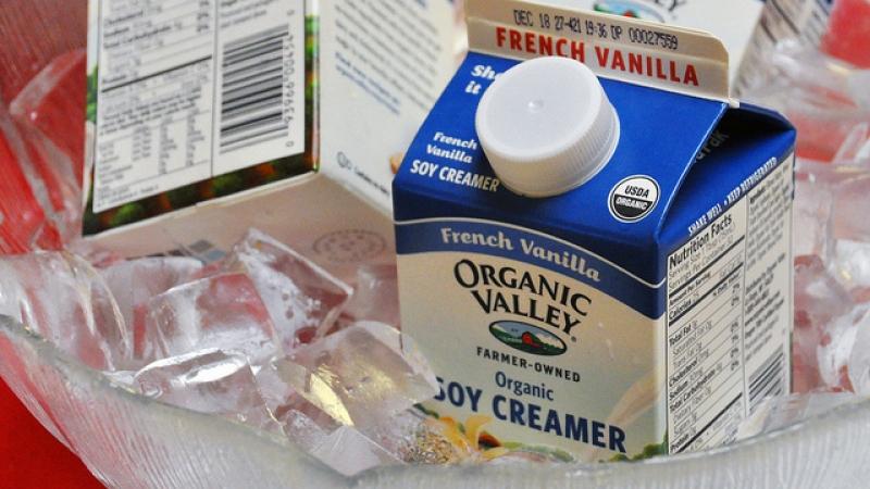 Organic Valley creamer