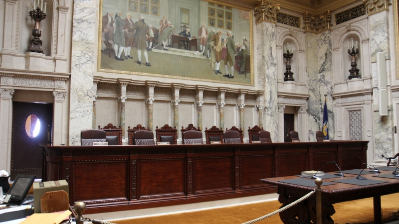 Wisconsin State Supreme Court Chamber