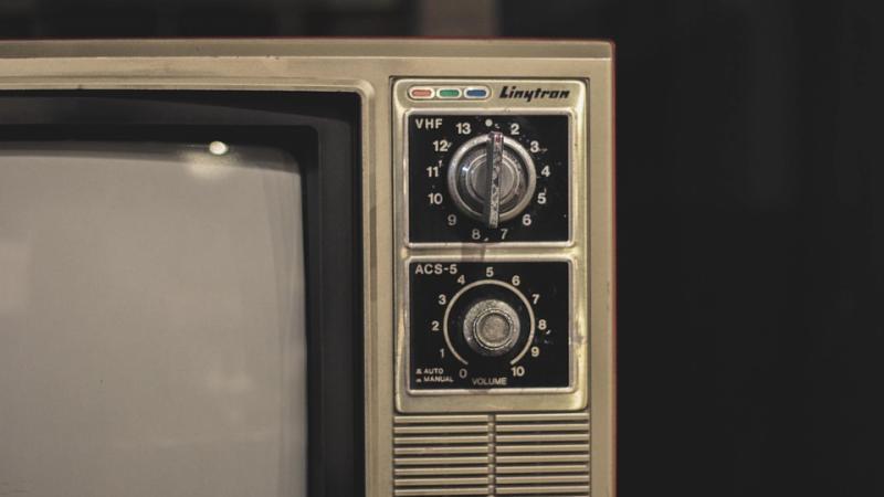 An old tube TV